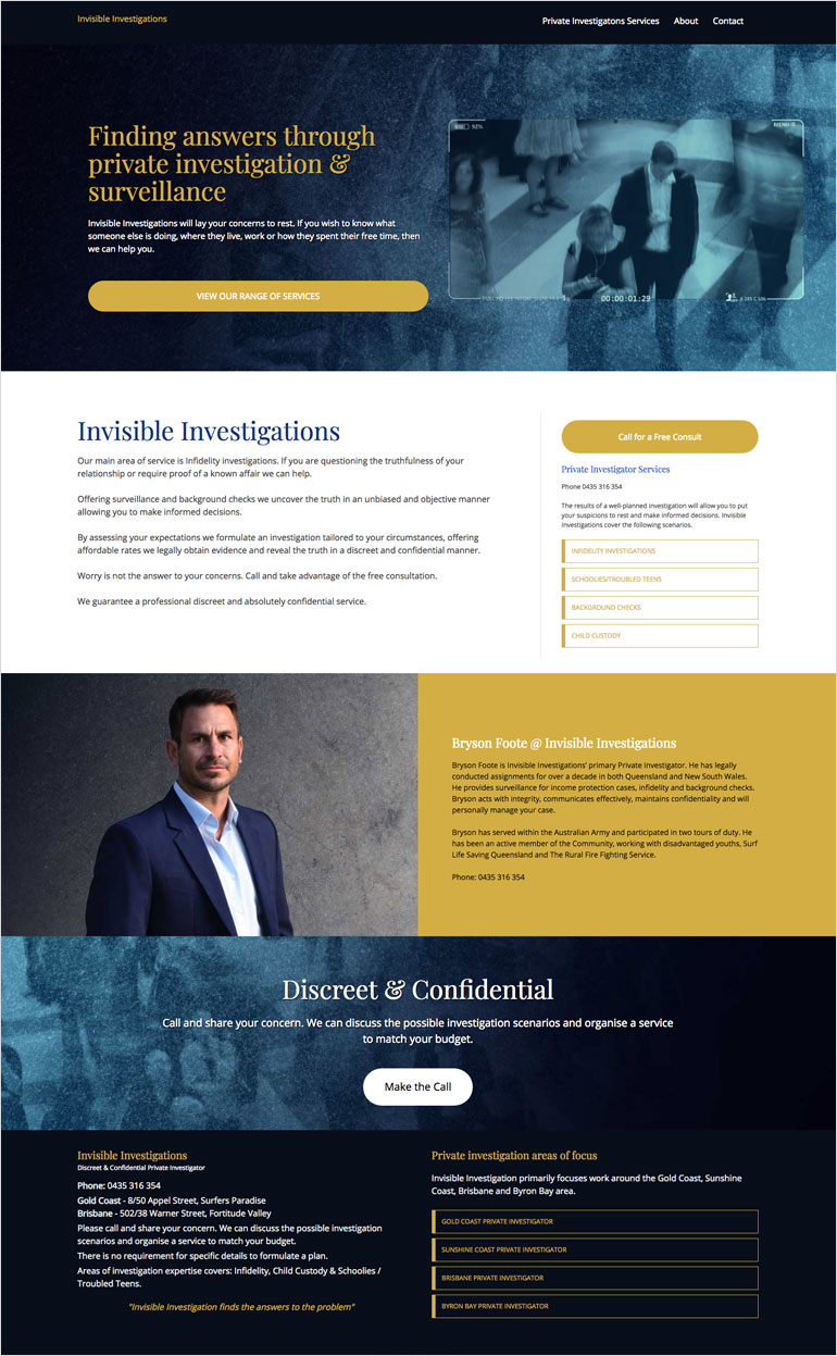 private investigator website